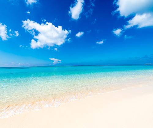 沖縄には日本でも有数の透明度を誇る海がいっぱい!